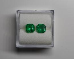 1.55 Carats Vivid Green AFGHAN (Panjshir) Emerald!