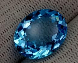 11.62CT BLUE TOPAZ BEST QUALITY GEMSTONE IIGC53