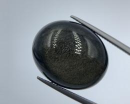28.65 Crt Excellent Black Obsidian. obs-111