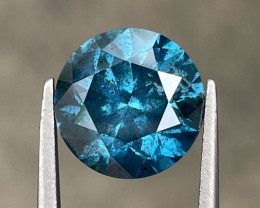 4.79 CT Diamond Gemstones Blue top color with fine cutting