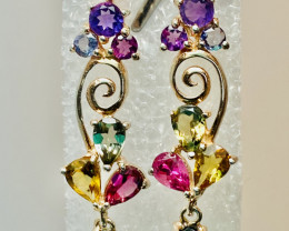 MIX BEAUTIFUL! EARRINGS- , SILVER Gold Plated    UNUSED - COLLECTION!