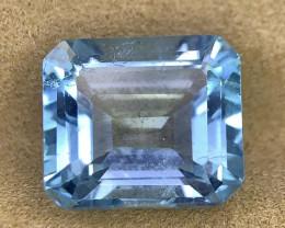 NR 13.80 Cts Natural Blue Topaz gemstone
