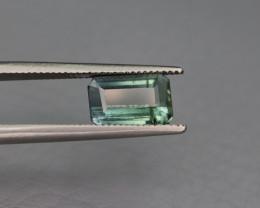 NR 1.85 Cts Bicolor Afghan Tourmaline Gemstone