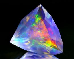 ContraLuz 6.78Ct Trillion Cut Mexican Very Rare Species Opal C0906