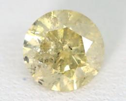 Yellow Diamond 0.85Ct Untreated Genuine Fancy Diamond C0907