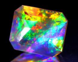 ContraLuz 3.26Ct Octagon Cut Mexican Very Rare Species Opal C0923
