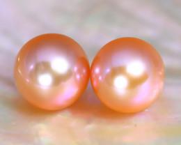 8.1mm 7.54Ct Natural Australian South Sea Orange Color Pearl C0925
