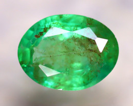 Emerald 1.70Ct Natural Zambia Green Emerald E0820/A38
