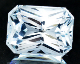 ~CUSTOM CUT~ 11.25 Cts Natural Stunning White Topaz Fancy Octagon Brazil