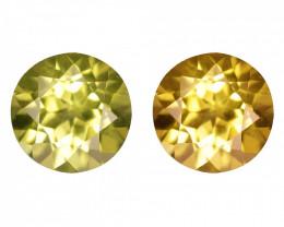 0.58 Cts Untreated Color Changing Natural Demantoid Garnet Gemstone
