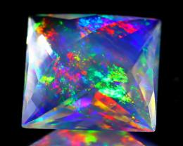 ContraLuz 5.54Ct Precision Cut Mexican Very Rare Species Opal A0914
