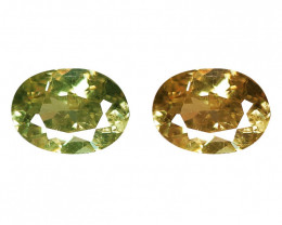 0.26 Cts Untreated Color Changing Natural Demantoid Garnet Gemstone