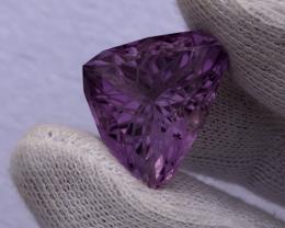 Flawless Flower-Cut Amethyst 33.30 carat