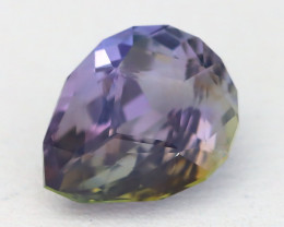 BiColor Peacock Tanzanite 1.89Ct Master Cut Unheated Tanzanite AT76