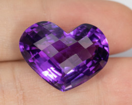 24.70ct Lab Certified Natural Amethyst