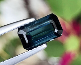 1.08 CT TOURMALINE BLUE 100% NATURAL UNHEATED MINE MOZAMBIQUE