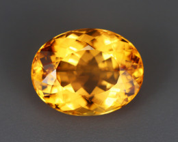 5.305 CT IMPERIAL TOPAZ 100% NATURAL UNHEATED MINE BRAZIL