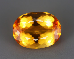 4.610 CT IMPERIAL TOPAZ 100% NATURAL UNHEATED MINE BRAZIL