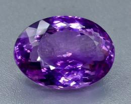 44.16 Crt Amethyst Faceted Gemstone (Rk-14)