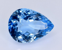 10.59 Crt Topaz Faceted Gemstone (Rk-14)