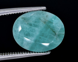4.41 Crt Emerald Faceted Gemstone (Rk-14)