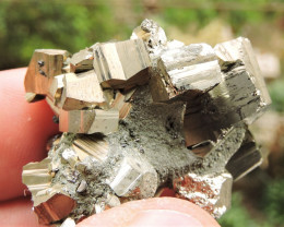 34.36g PYRITE FROM THE MADAN ORE FIELD IN BULGARIA