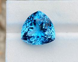 Natural Sky Blue Topaz 18.45 Cts Deep color