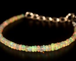 16.20 Crts Natural Ethiopian Welo Opal Bracelet