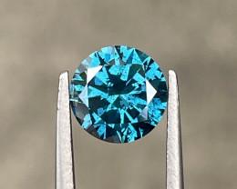 1.53 CT Diamond Gemstones top blue color top luster