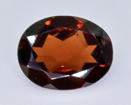 2.26 Crt Natural Garnet Faceted Gemstone.( AB 28)
