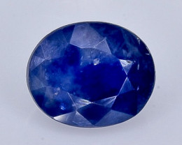 0.90 Crt Natural Sapphire Faceted Gemstone.( AB 28)