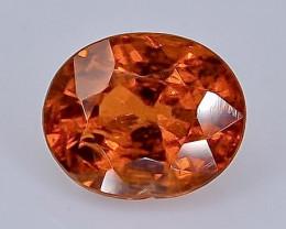 1.26 Crt Natural Spessartite garnet Faceted Gemstone.( AB 28)