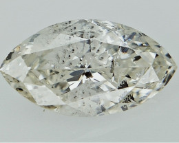 0.65 cts Fancy Colored Diamonds , Fancy Shaped Diamond