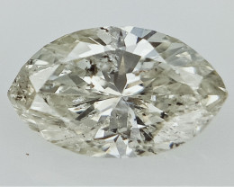 0.48 cts  Fancy Colored Diamonds , Fancy Shaped Diamond