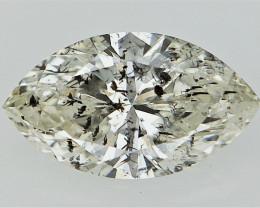 0.51 cts  Fancy Colored Diamonds , Fancy Shaped Diamond