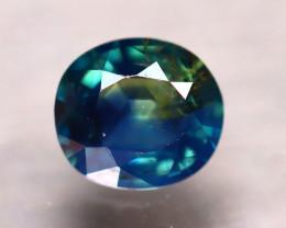 Unheated Sapphire 0.97Ct Natural Peacock Sapphire D0904/B9
