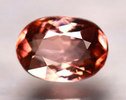 Tourmaline 1.30Ct Natural Orangey Pink Tourmaline D0906/B49