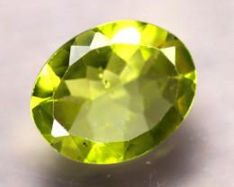 Peridot 1.74Ct Natural Pakistan Himalayan Green Peridot D0914/A10