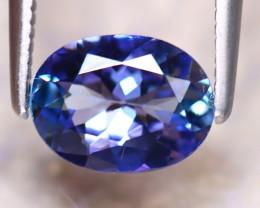 Tanzanite 1.16Ct Natural VVS Purplish Blue Tanzanite D0919/A45