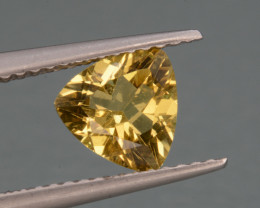 Natural  Heliodor 0.89 Cts, Top  Luster.