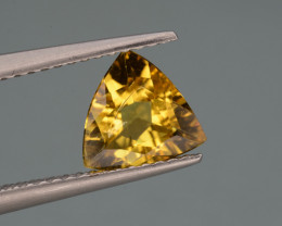 Natural  Heliodor 0.90 Cts, Top  Luster.