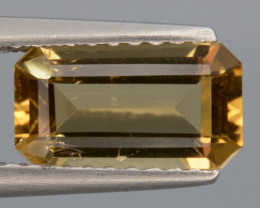 Natural  Heliodor 1.04 Cts, Top  Luster.
