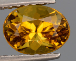 Natural  Heliodor 1.10 Cts, Top  Luster.