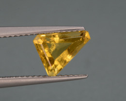 Natural  Heliodor 1.28 Cts, Top  Luster.
