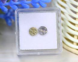 Diamond 1.20Ct 2Pcs Round Natural Genuine Fancy Color Diamond B1027