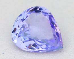 Tanzanite 1.96Ct VVS Natural Unheated Light Blue Tanzanite B1034