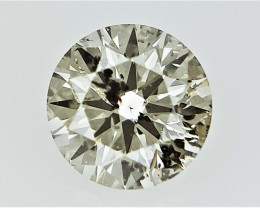 0.20 cts  Round Brilliant Cut , Light Colored Diamond