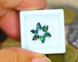 2.49ct Natural Greenish Sapphire Heated Pear Cut Lot B3495