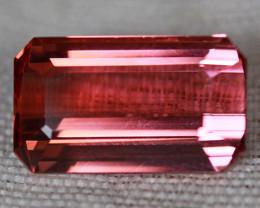 4.37 CT Orangy Pink!! Natural Mozambique Tourmaline-TE26