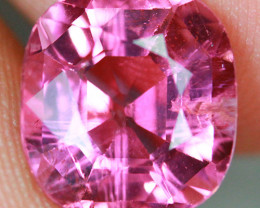 3.89 CT Vivid Pink German Cut!! Tourmaline-TE35